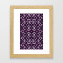 Glitch Pattern 4 Framed Art Print