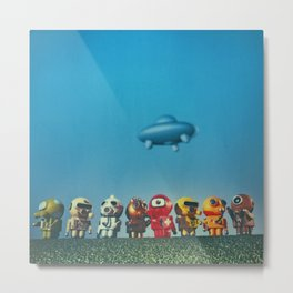 The Invasion Metal Print