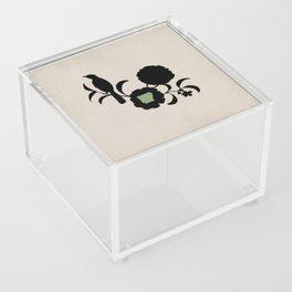 Arkansas - State Papercut Print Acrylic Box