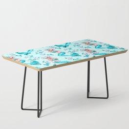 Pinup Mermaid with Merkittens Coffee Table