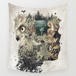 Forest Lake Dreams Wall Tapestry