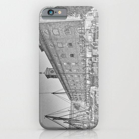 St Katherine's Dock London sketch iPhone & iPod Case