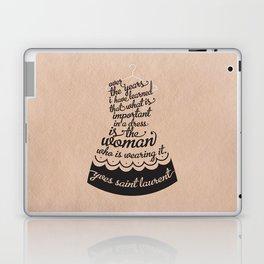 Little Black Dress Laptop & iPad Skin