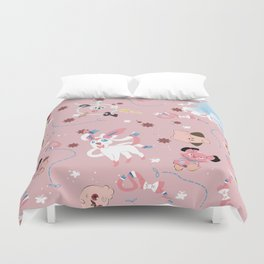 Do you believe in Faeries? Duvet Cover