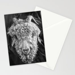 Trophy Mohair Goat Stationery Cards