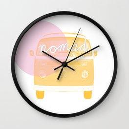 nomads Wall Clock