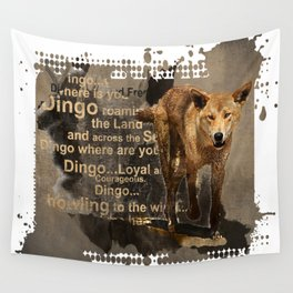 DINGO IN THE WILD Wall Tapestry