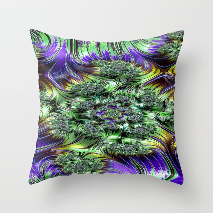 Spectroscopic Petulance 2 Throw Pillow