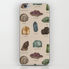 Gems and Minerals iPhone Skin