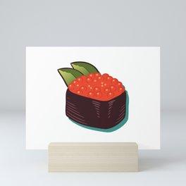 Japanese Sushi- Salmon Roe Sushi Mini Art Print
