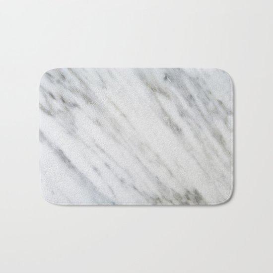 Carrara Italian Marble Bath Mat