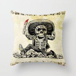 CALAVERA - DIA DE LOS MUERTOS Throw Pillow