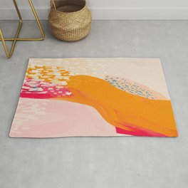 The Abstract Shape Of Spring Rug