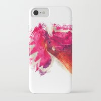 rooster iPhone & iPod Cases featuring Rooster by jbjart
