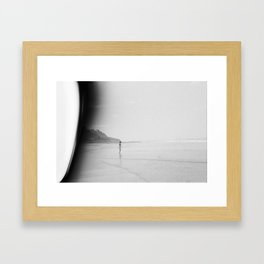 At the End of the World Framed Art Print