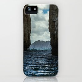 Kicker Rock Galapagos iPhone Case