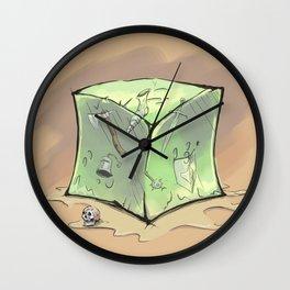 Gelatinous Cube Wall Clock