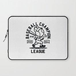 Baseball champion Japanese style. Baseball fans gifts. Laptop Sleeve