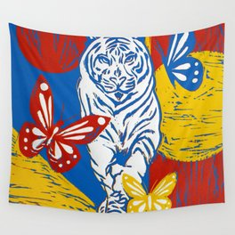 Wild Day Beauty Wall Tapestry