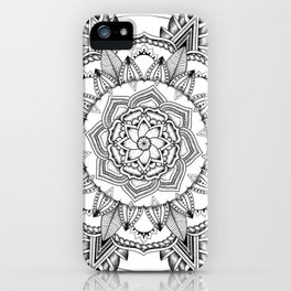 Mandala No. 3 iPhone Case