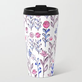 DITSY FLORAL WATERCOLOR Travel Mug