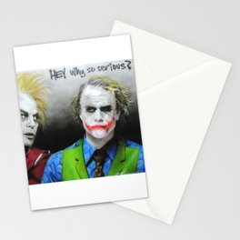 'Hey, Why So Serious?' Stationery Cards