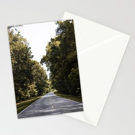Natchez Trace parkway in Florence Alabama Old Mammoth Road Stationery Cards