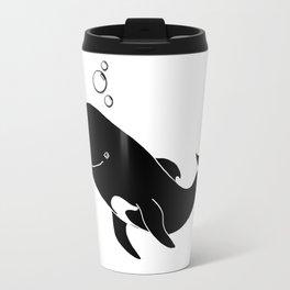 Short-finned pilot whale Travel Mug