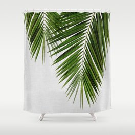 Palm Leaf II Shower Curtain