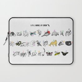 A to Z Animals of Florida Laptop Sleeve
