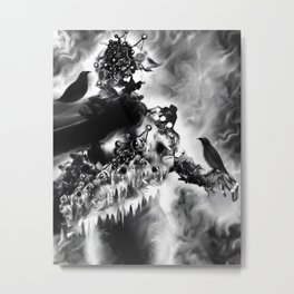 Colder Matter [Digital Figure Illustration] Metal Print