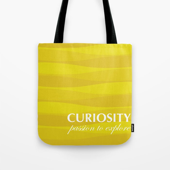 Yellow for Curiosity Tote Bag