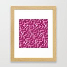 "Koloman (Kolo) Moser ""Textile pattern (Bogen)"" (2) Framed Art Print"