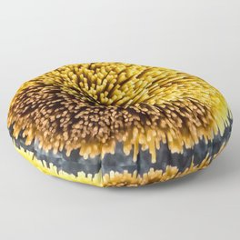 Spaghetti pompom Floor Pillow