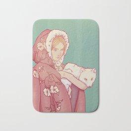 Arctic Lady Bath Mat