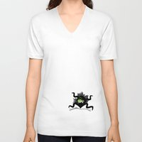 soul eater V-neck T-shirts featuring Eater by Haragos