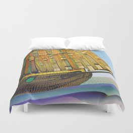 Sailing to the Summer Duvet Cover