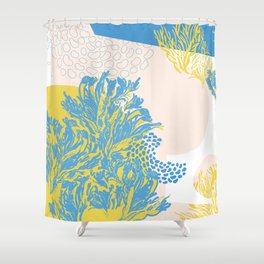 sea and salty air Shower Curtain