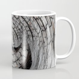 Spiralled Wood - Abstract Photography by Fluid Nature Coffee Mug
