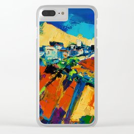 Tuscan Light Clear iPhone Case
