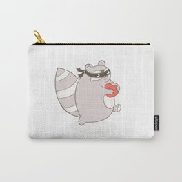 the raccoon, the bandit Carry-All Pouch