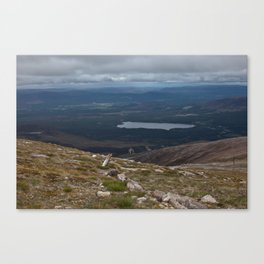 View from Cairn Gorm, 1245m Canvas Print