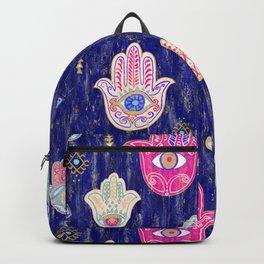 Hamsa Mystical Protection Backpack