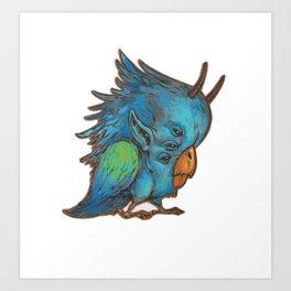 VIZIO fowl Art Print