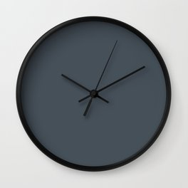 Dark Slate Wall Clock