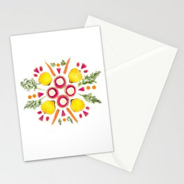 Parsnip Snowflake Stationery Cards