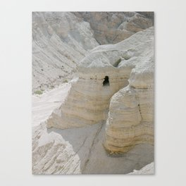 Qumran and the Dead Sea Scrolls - Holy Land Fine Art Film Photography Canvas Print