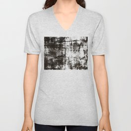 Concrete wall 1 Unisex V-Neck