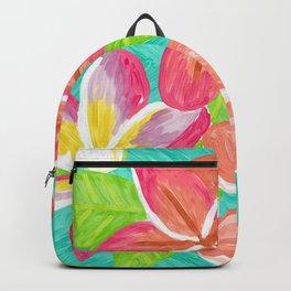Plumeria love Backpack