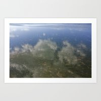 Sky and Sea Art Print